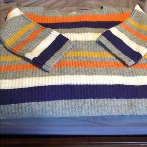 Striped Lou & Grey boxy sweater.